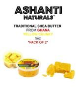 [Ashanti Naturals] CHUNKY 100% African Shea Butter 5oz *2PACK* - $9.89