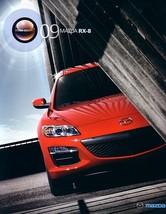 2009 Mazda RX-8 sales brochure catalog 09 US R3 - $12.00