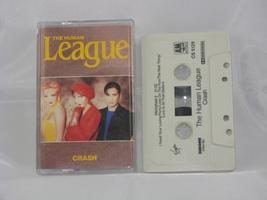 CRASH - THE HUMAN LEAGUE - CASSETTE - $5.77