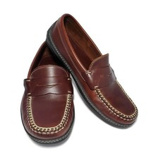 Indianapolis Country Club Golf Penny Loafer Driving Shoe Mens US 7 M Spi... - $39.59