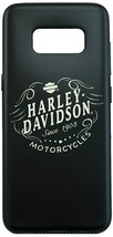 Harley Davidson Black Flexible Since 1908 Cover fits Samsung Galaxy S8 - $29.69