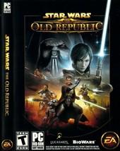 Star Wars The Old Republic PC DVD-Rom Software EA Bioware Lucas Arts - $19.74