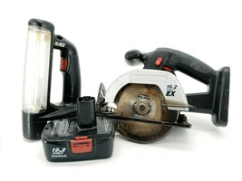 Craftsman 315.114260 19.2V  Cordless Circular Trim Saw and Craftsman EX Fluoresc - $52.56