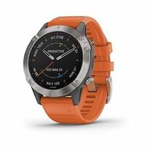 Garmin Fenix 6 Sapphire, Premium Multisport GPS Watch, features Mapping, Music,  - $899.99