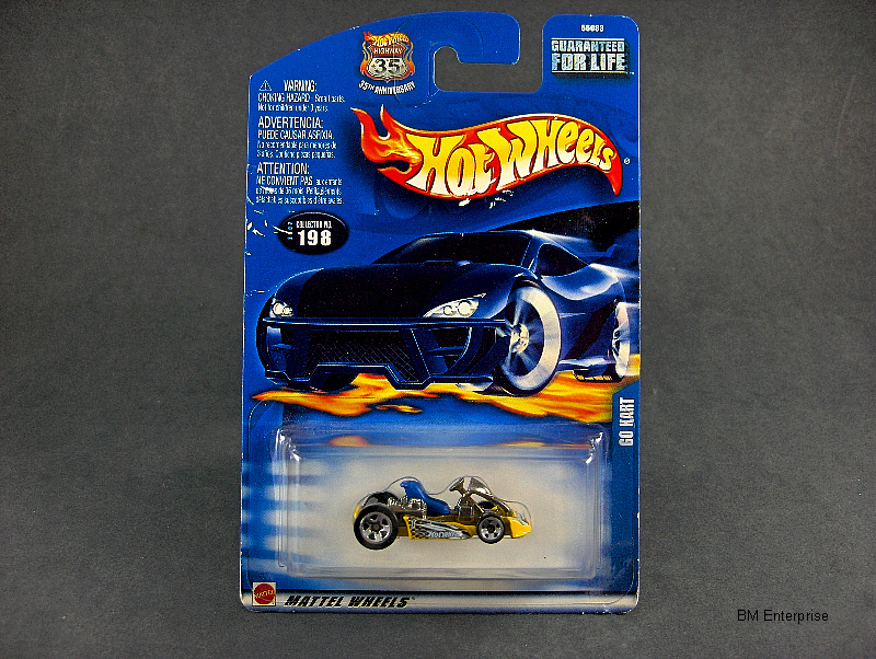Hot Wheels Go Kart #2002-198
