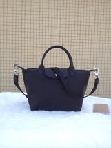 Longchamp Le Pliage Medium Black Handbag Neo Shoulder Strap 1512578001 - $79.99