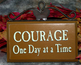 Inspiration Courage Plaque  - $7.95