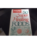 50 Super Healing Foods From Prevention Magazine from 1989 or 1990 Rodale... - $7.00