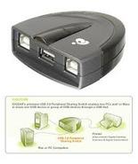 IOGEAR GUB201 USB 2.0 Peripherals Sharing Switch - New Sealed - $24.99