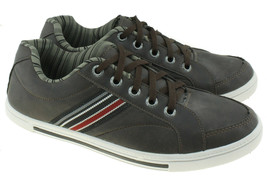 Avenida Mens Skate Shoe Side Multi-color Stripe  Sneakers Mens Size 8 - $14.80