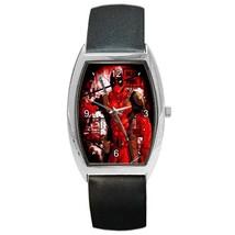 Barrel Style Metal Unisex Watch Highest Quality Deadpool - $23.99