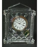 Waterford Grecian Clock ~ Flawless & Brand New in Box ~ MSRP = $135.00 - $92.00