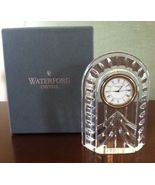 Waterford Overture Clock ~ Gorgeous & MIB ~  - $64.99