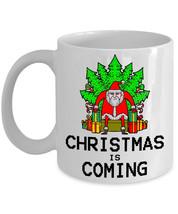 Christmas is Coming King Satan Claus - Best Novelty Funny Xmas Gifts Coffee Mug - $14.95+