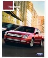 2008 Ford FUSION sales brochure catalog 08 US SE SEL - $6.00