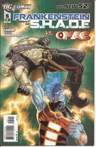 DC Frankenstein Agent Of Shade #5  vs OMAC The New 52 - $2.95