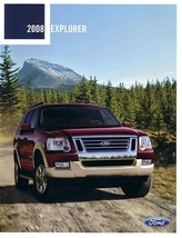 2008 Ford EXPLORER sales brochure catalog 08 US Eddie Bauer - $7.00