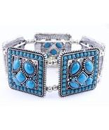 Stretch designer look summer fashion bracelet c... - $11.48