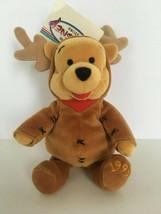 """Disney Mini Bean Bag Reindeer Pooh 8"""" Plush Toy Stuffed Animal Stocking ... - $10.80"""