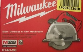 "MILWAUKEE 0740-20 M28 Cordless Circular Metal Saw 6-7/8"" Bare Tool - $212.85"