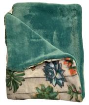 Handmade Baby/Kids Soft Minky Blanket W/ Cactus Print - $28.99