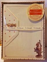 Vtg MJ Hummel Stationary Apple Tree Girl Fabric Box 30 Sheets 15 Envelop... - $18.49