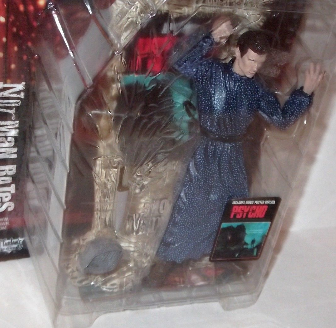 ✰ MCFARLANE MOVIE MANIACS 2 PSYCHO NORMAN BATES 1999 Issue