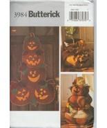 Halloween Ornament Door Wall Hanging pattern Butterick 3984 Outdoor Craf... - $4.92