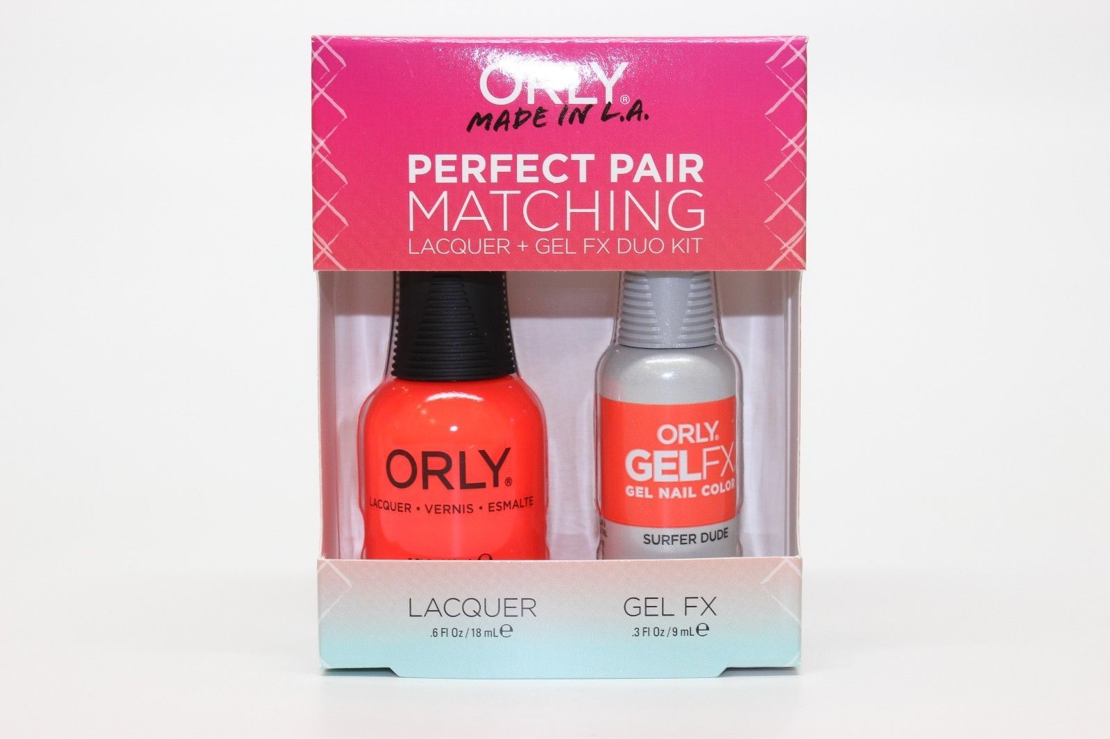 31154 - Orly Gel FX .3oz + Nail Lacquer .6oz and 25 similar items