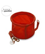 Found My Animal COLLAPSIBLE CAT & DOG WATER BOWL, Red - $17.33