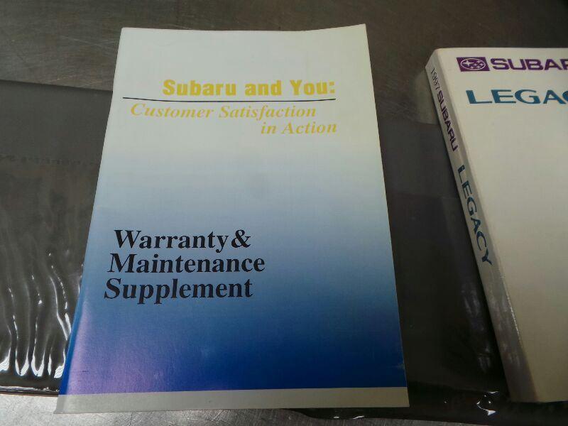 1997 subaru legacy owner s manual set in and similar items rh bonanza com 1997 subaru legacy repair manual 97 Subaru Outback