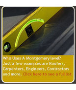"""Montgomery Degree and Pitch Level 48"""" - $139.95"""