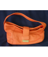 Liz Claiborne New York Small Hobo Handbag Purse - Melon or Orange Color - $18.00