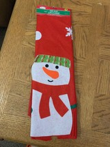 Christmas Tree Skirt Snowman - $17.70