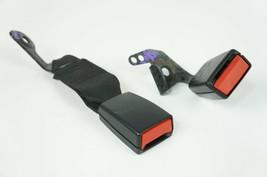 2008 mercedes w204 c300 c63 rear right passenger and center seat belt bu... - $61.59