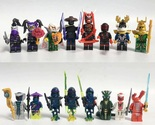 NINJAGO SONS OF GARMADON Minifigures Custom Lego 16 PCS/Set