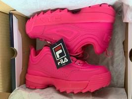NIB*Fila Disruptor II Premium Sneaker*Fuchsia Pink*Size 9 - $135.00