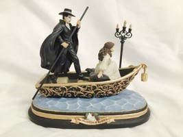 San Francisco Music Box PHANTOM OF OPERA Boat Journey to Lair MUSIC OF T... - $89.99