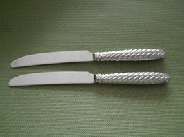 Ralph Lauren Equestrian braid stainless  set of 2 dinner knife KOREA - $29.65
