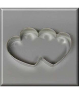 "5"" Double Heart Metal Cookie Cutter #N4006 - $1.99"