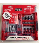 Milwaukee 48-32-4059 56 Piece Shockwave Impact Duty Impact Driver Bit Set - $29.70