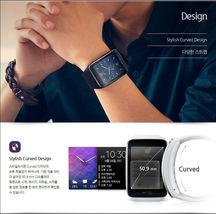 Samsung Galaxy gear S SM-R750 Curved AMOLED Smart Watch Black Wi-Fi No Box image 4