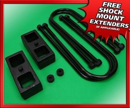 "For 05-11 Dodge Dakota Rear Level Lift Kit 1.5"" Steel Blocks w/ U Bolts ... - $75.00"