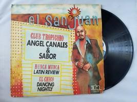 Angel Canales & Sabor El San Juan Vinyl Record Vintage 1976 TR Record Corp - £34.38 GBP