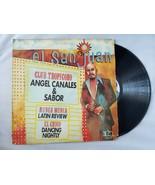 Angel Canales & Sabor El San Juan Vinyl Record Vintage 1976 TR Record Corp - $41.84