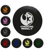 Star Wars Choose Wisely Tire Cover -STANDARD- We Need Tire Size and Colo... - $59.95