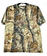 Cabela's REALTREE Camo Hunting T-Shirt Short Sleeve - 1X - $16.49