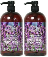 (2 Bottles) Dead Sea Collection Lavender Oil Calming Mineral Body Wash 3... - $24.74