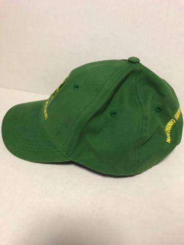 eb29e50cc3e73 John Deere Green Baseball Cap Nothing Runs Like Owners Ed Men s Hat  Adjustable