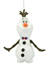 Hallmark Disney Frozen Olaf Decoupage Shatterproof Christmas Tree Ornament NWT
